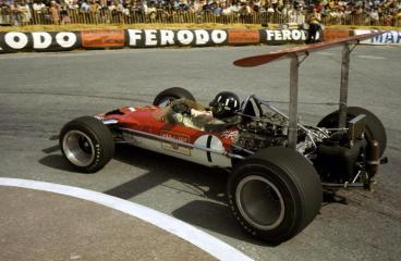 Lotus 49 AVEC aileron