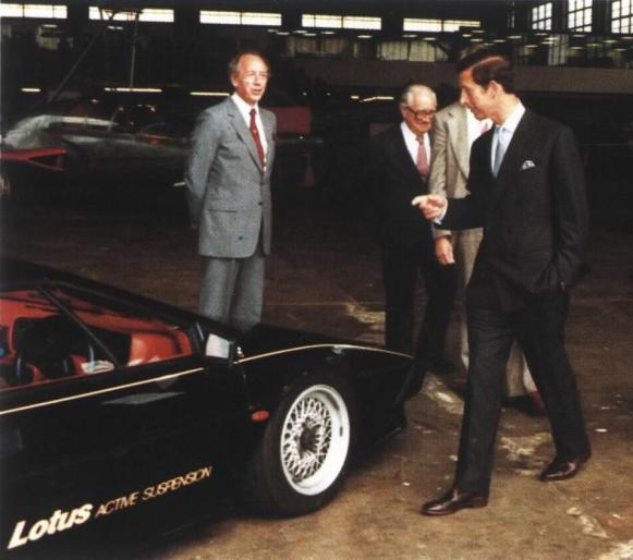 Même le Prince Charles est venu la voir!
