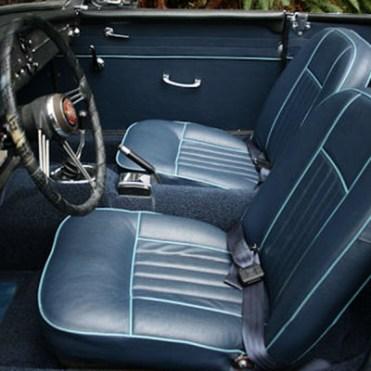 Housse sièges Midget MKI bleu