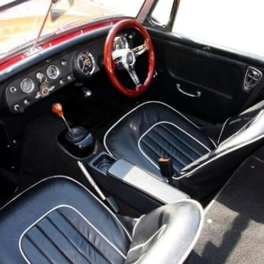 Panel kit Sprite 1965 noir