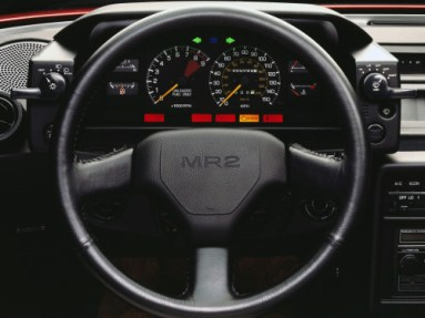 Toyota MR AW11 Interior