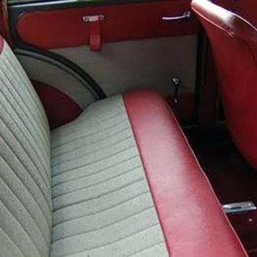 Garniture 4p duotone rouge