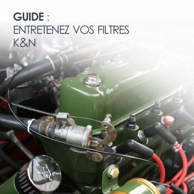 Guide entretien filtres k&n