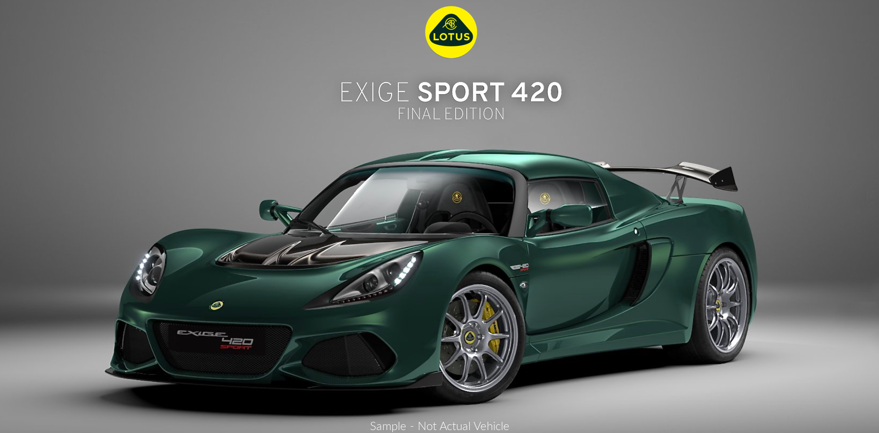 Lotus Exige Sport 420 for Sale Perth Final Edition