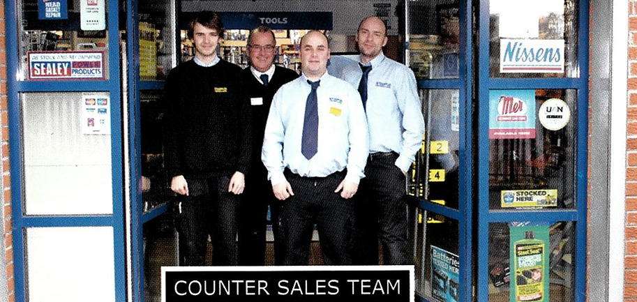 AutoSupplies - Counter Sales Team