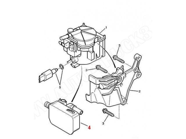 Podgrzewacz paliwa Citroen Berlingo,C2,C3,C4 Picasso,C5