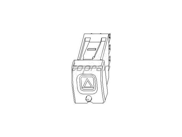 Włącznik świateł awaryjnych Opel Corsa B,Tigra A z