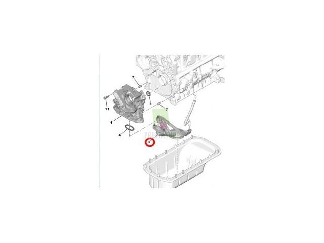 Smok pompy olejowej Citroen,Peugeot 1.4 /1.6 HDI