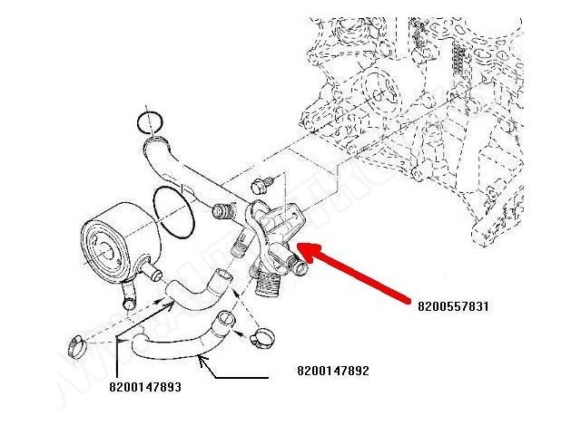 Przewód rozgałęźnik-kolektor-magistrala wodna układu