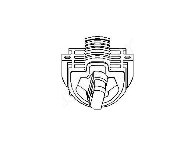 Poduszka tylna zawieszenia manualnej skrzyni biegów
