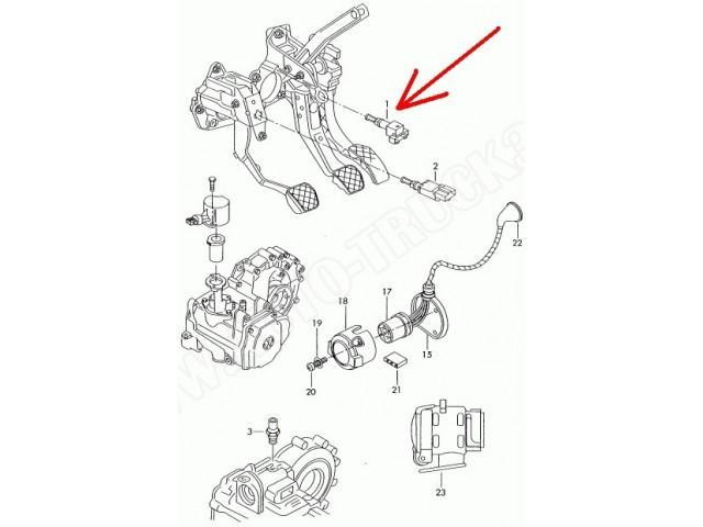 Włącznik świateł stopu Audi A3,Q7,Seat... ,Skoda Fabia