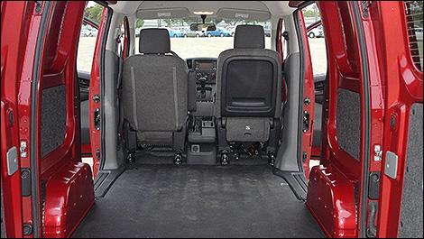2013 Nissan NV200 inside