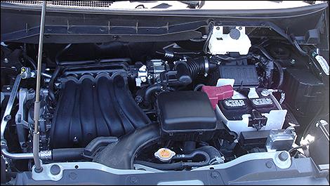 2013 Nissan NV200 engine