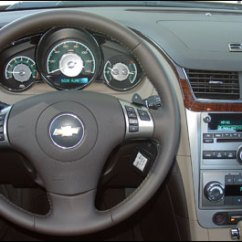 2008 Chevy Malibu 2006 Kia Spectra Radio Wiring Diagram Chevrolet First Impressions Interior Fit And Finish Is Much More Rigorous Than With Previous Generations
