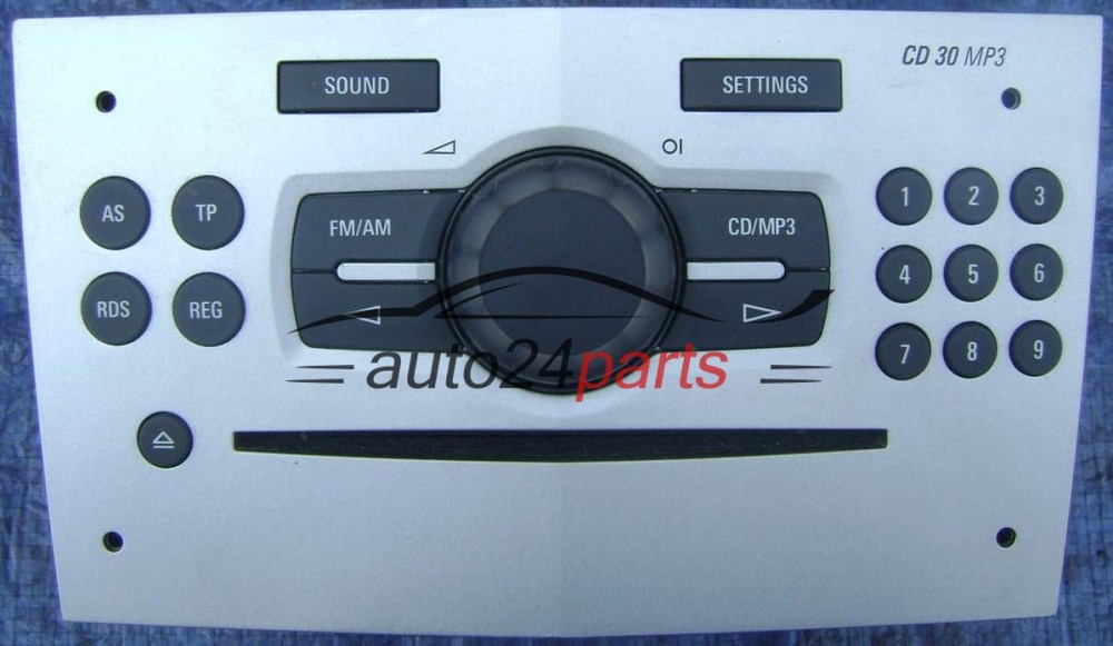 medium resolution of radio cd 30 mp3 2008 opel astra agila corsa meriva vectra zafira