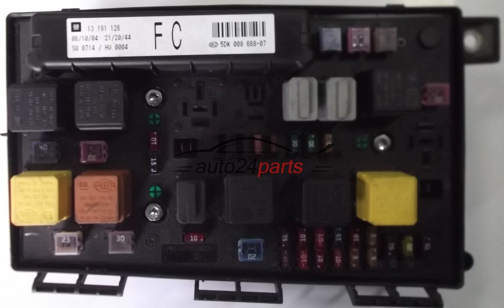 medium resolution of fuse relay box electrical comfort control module body opel fuse box for vauxhall astra 2007 fuse
