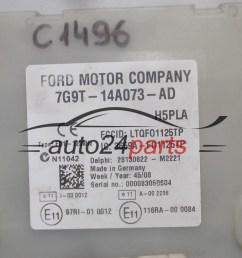 fuse box modul ford delphi 28130622 m2221 7g9t 14a073 ad [ 1287 x 725 Pixel ]