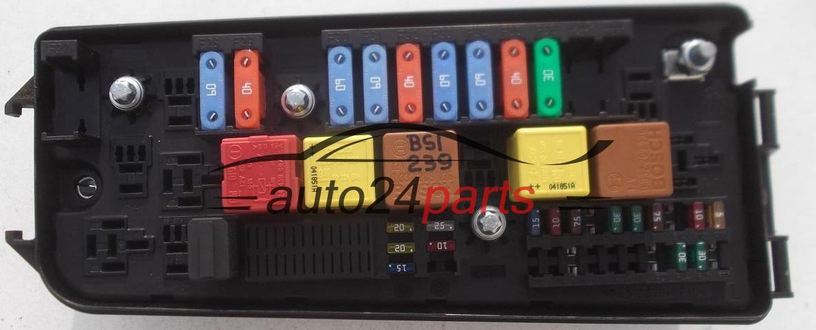 100 Fuse Box Diagram Fuse Relay Box Electrical Comfort Control Module Body Opel