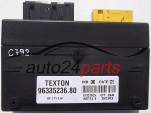 COMFORT CONTROL MODULE CITROEN XSARA TEXTON 9633523680 9633523680 91038535 auto24parts