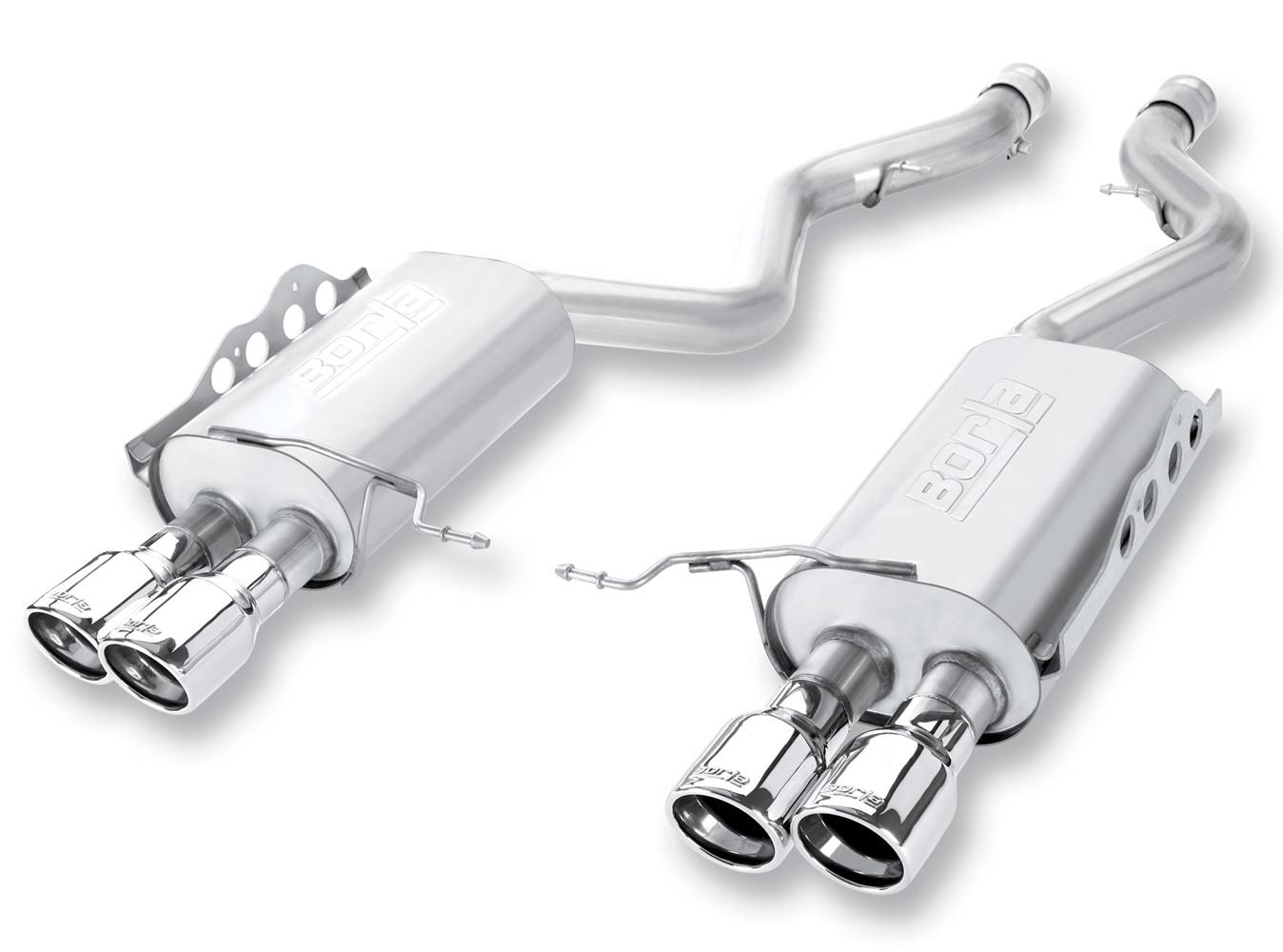 borla exhaust system 140472