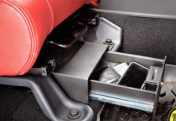 19962006 Jeep Wrangler Bestop Under Seat Locking Storage