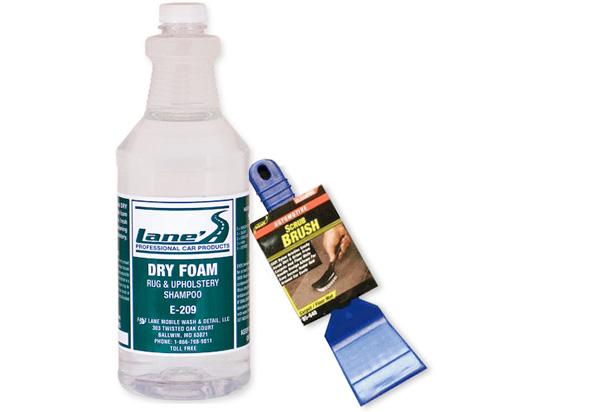 Lane S Dry Foam Carpet Upholstery Cleaner Upholstery Cleaners