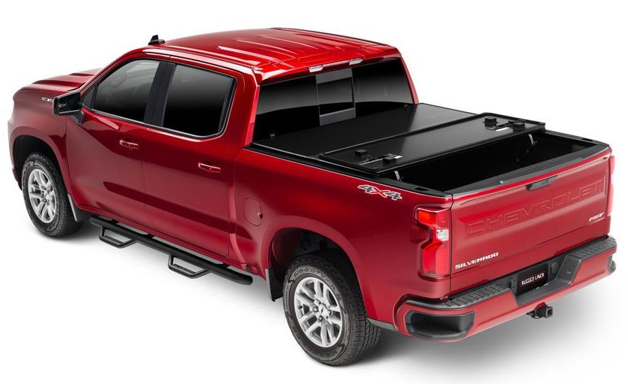 Rugged Liner HCC5507  Hard Fold Tonneau Cover for Silverado Pickup  New  eBay