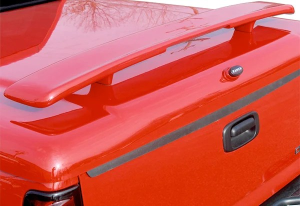 Ranch Tonneau Cover Accessories  Tail Wing  Keyless