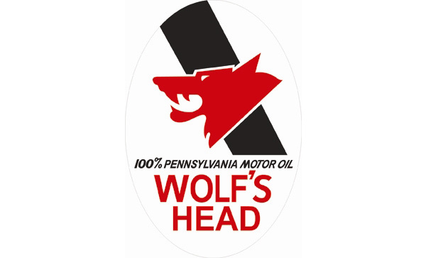 Wolfs Head Oil Vintage Sign by SignPast  Free Shipping