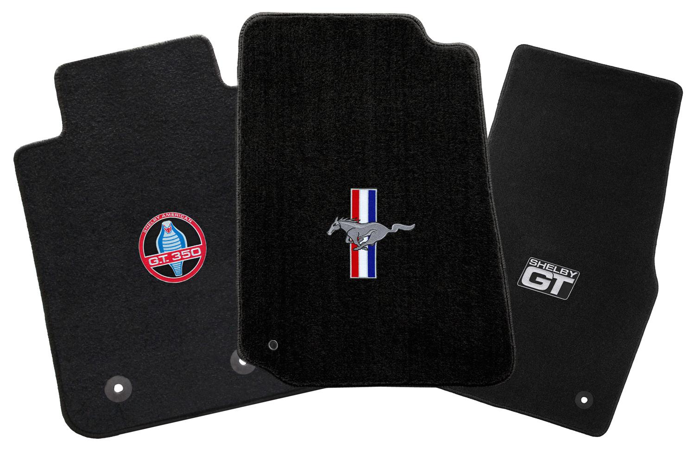 hight resolution of lloyd mats mustang logo floor mats