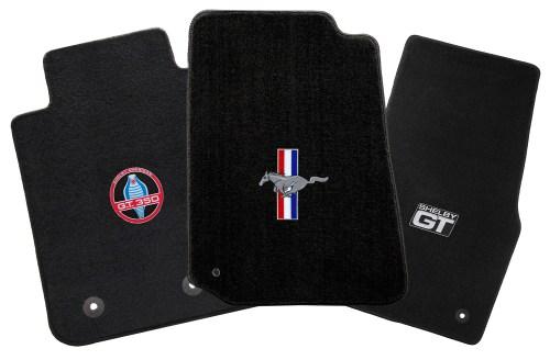 small resolution of lloyd mats mustang logo floor mats