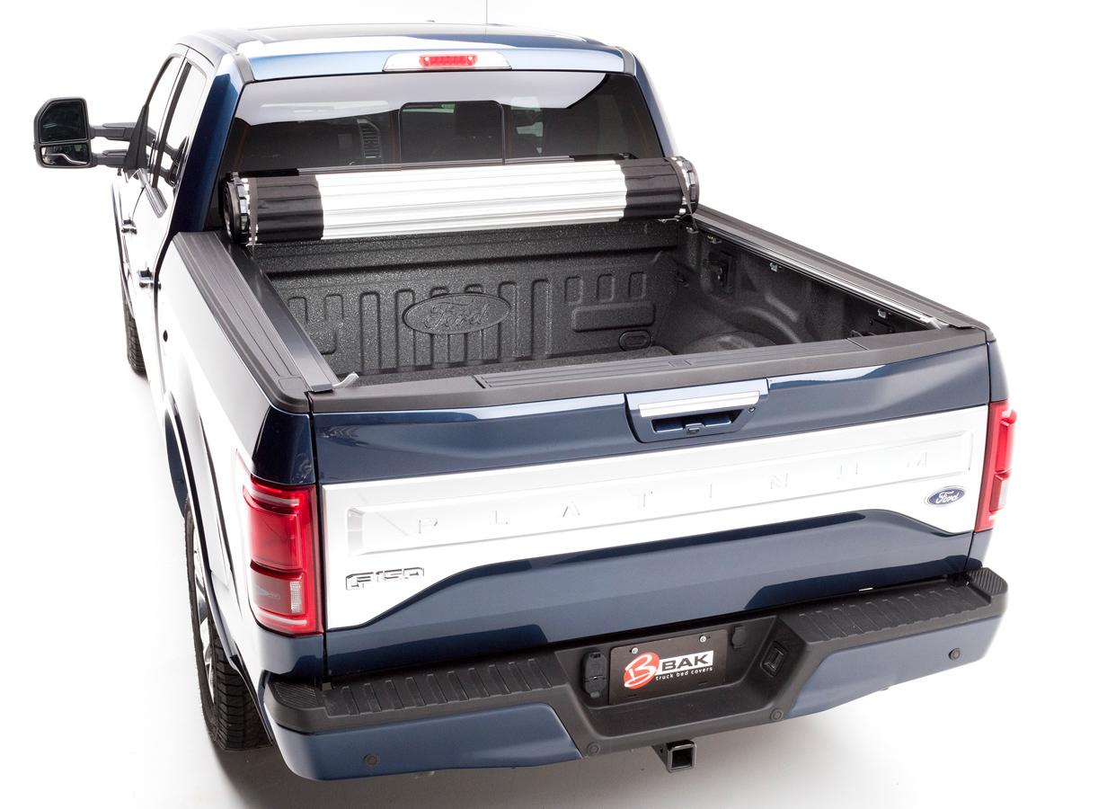 Bak Revolver X2 Tonneau Cover Bak Hard Roll Up Truck Bed