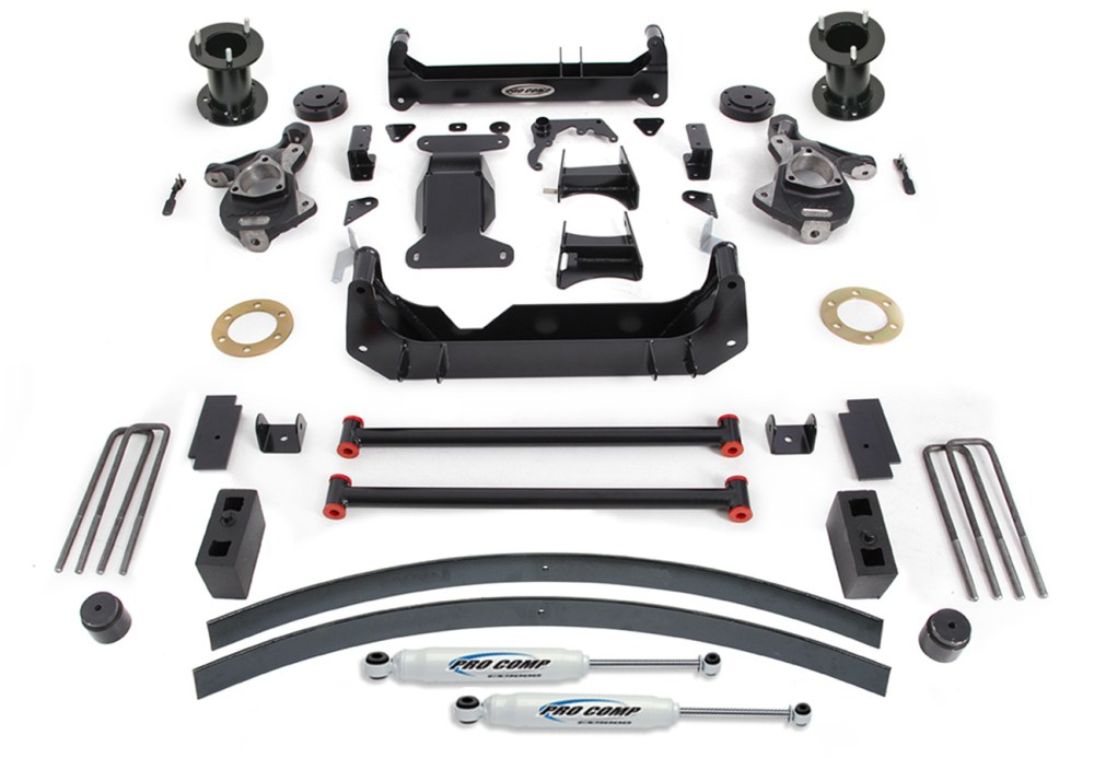 medium resolution of pro comp suspension lift kit