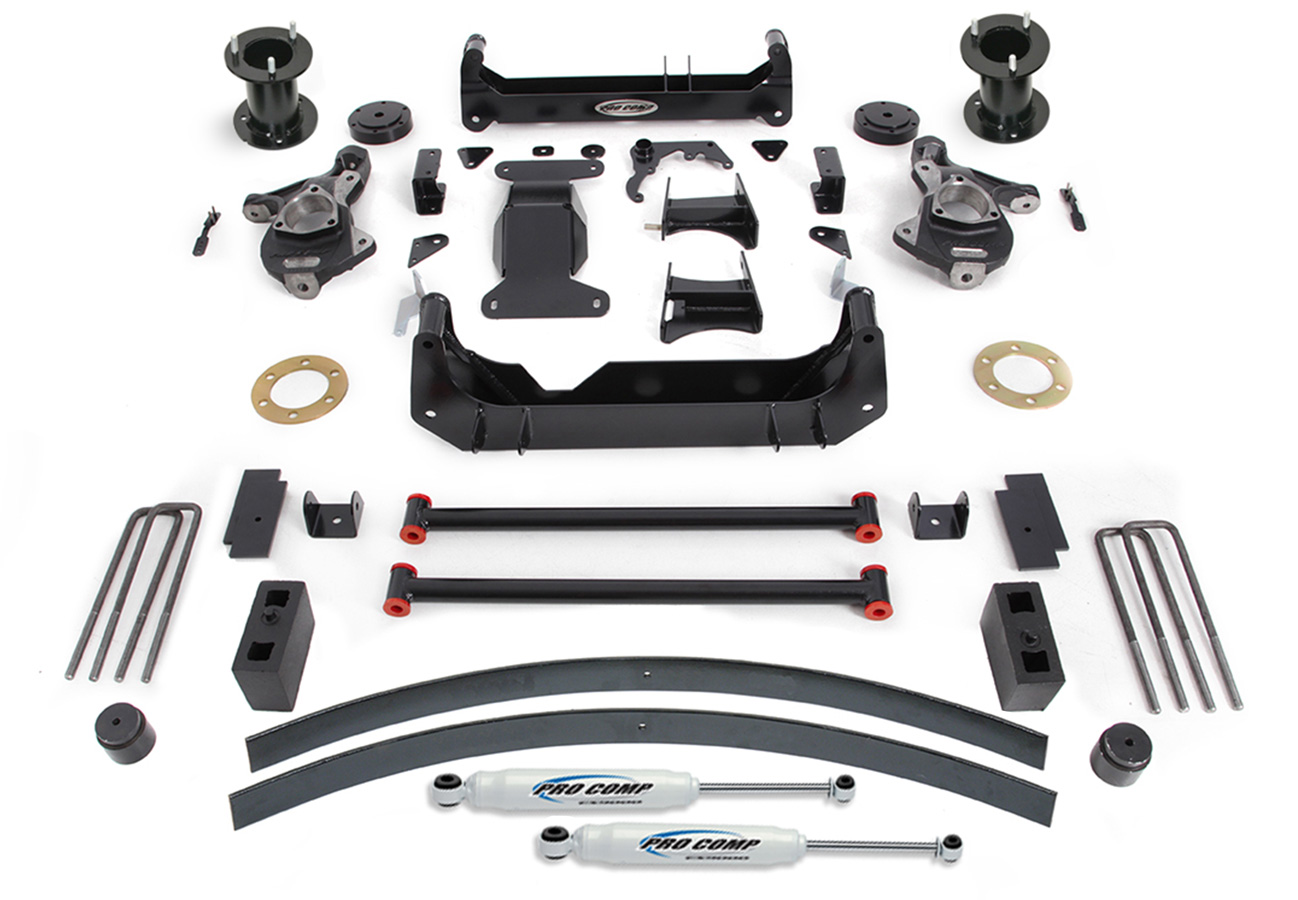 hight resolution of pro comp suspension lift kit