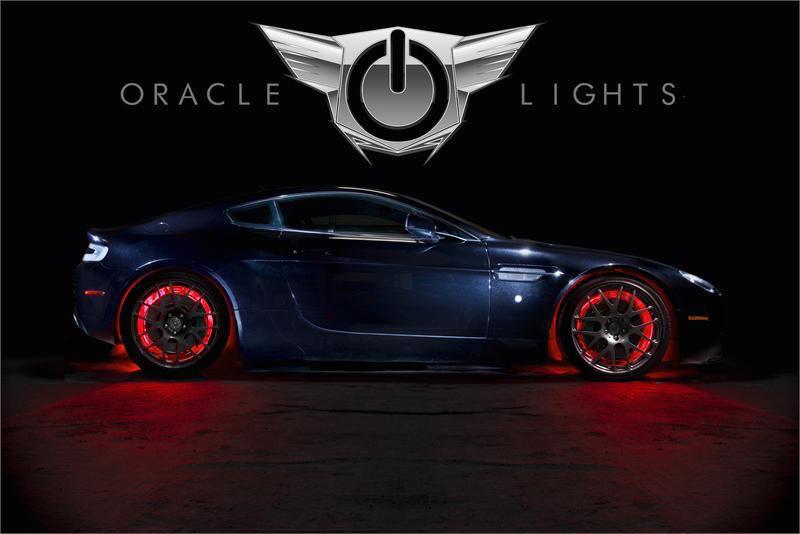 Oracle Illuminated LED Wheel Rings Free Shipping On
