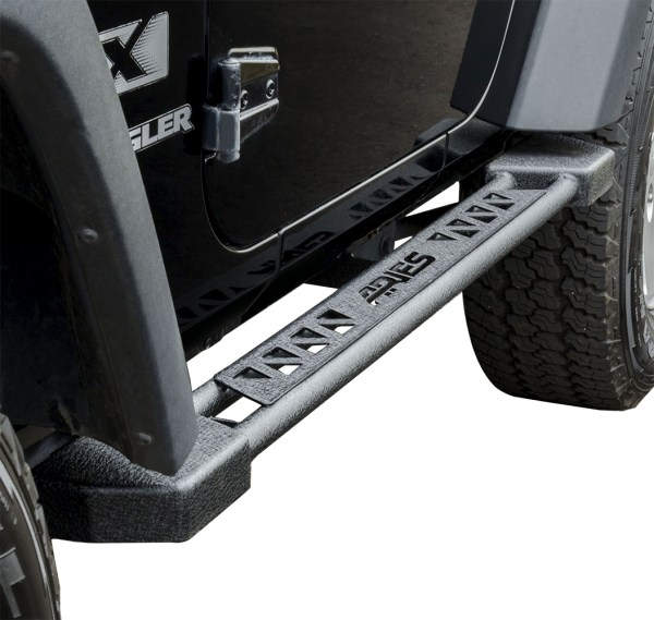 2007-2016 Jeep Wrangler Aries Rocker Steps