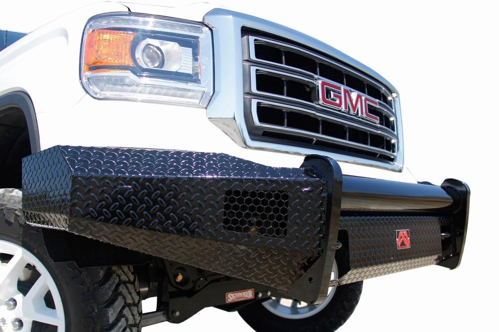 medium resolution of ford f350 fab fours black steel front bumper