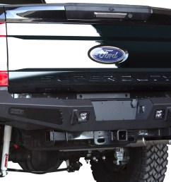 ford f350 add honeybadger rear bumper [ 1500 x 1000 Pixel ]