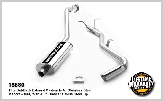 2002-2004 Nissan Frontier MagnaFlow Exhaust System