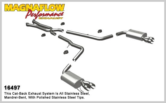 2009-2013 Hyundai Genesis MagnaFlow Exhaust System
