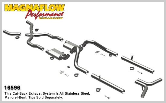 1955-1957 Chevy Bel Air MagnaFlow Exhaust System