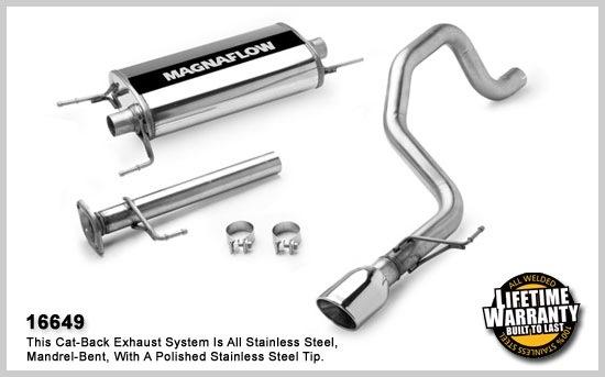 2007-2014 Toyota FJ Cruiser MagnaFlow Exhaust System