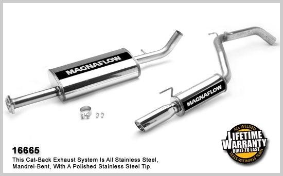2006-2010 Jeep Commander MagnaFlow Exhaust System