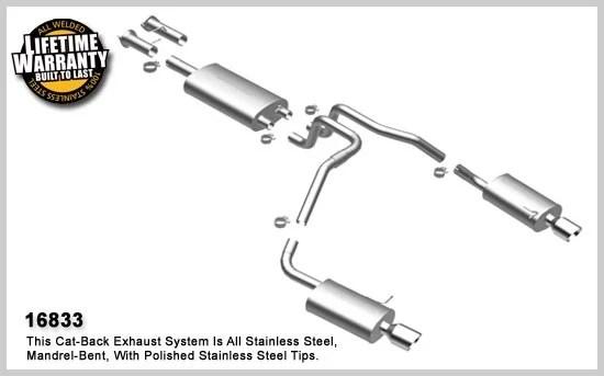 2002-2010 Chevy Trailblazer MagnaFlow Exhaust System