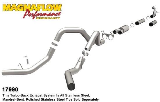 2004-2007 Dodge Ram 3500 MagnaFlow Exhaust System