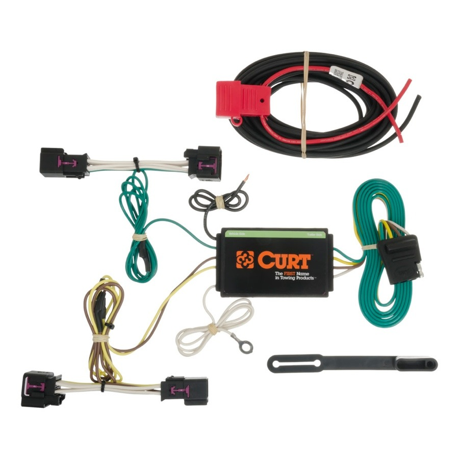 medium resolution of 20122015 chevy sonic curt t connector wiring harness curt 56155