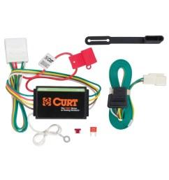 2016 toyota highlander curt t connector wiring harness curt 56217 [ 900 x 900 Pixel ]