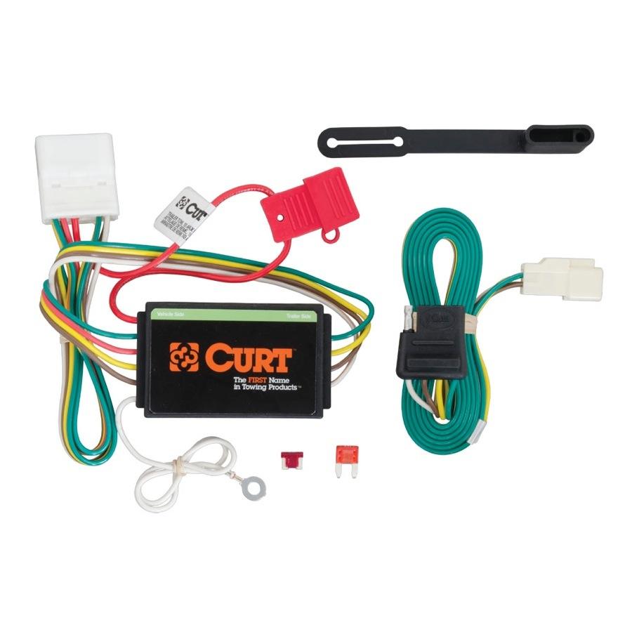 medium resolution of 2016 toyota highlander curt t connector wiring harness curt 56217