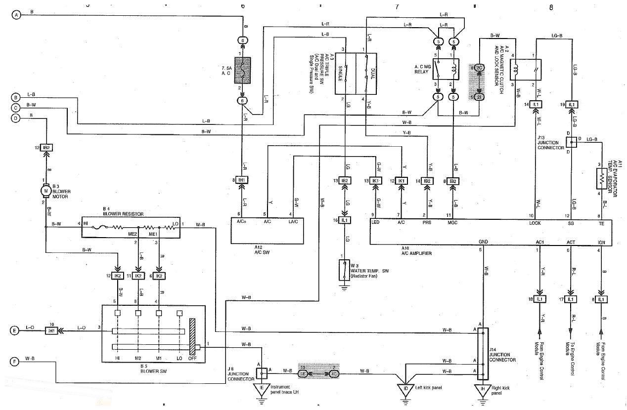 car ac schematic diagram nissan maxima engine 95 geo prizm wiring 27 images