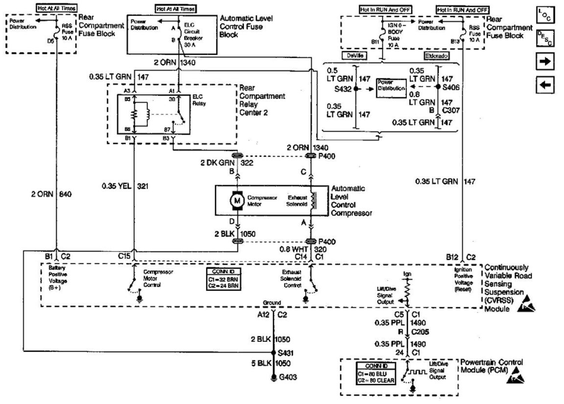 1999 cadillac deville stereo wiring diagram